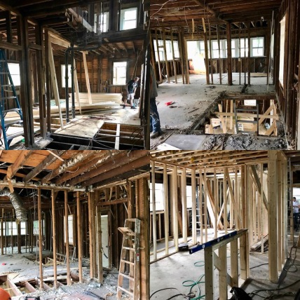 *FEATURED BUILD OUT* 564 Parkway Dr. (Demo, Framing, Sheetrock and HVAC System).